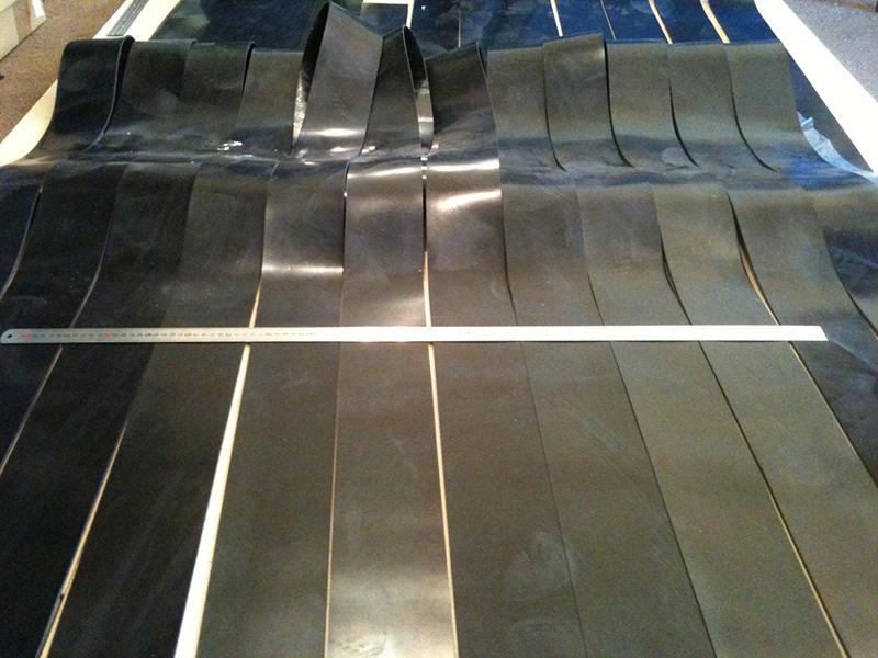 Cut rubber in Estonia